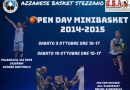 OPEN DAY MINIBASKET PER ANNATE 2014-2015!
